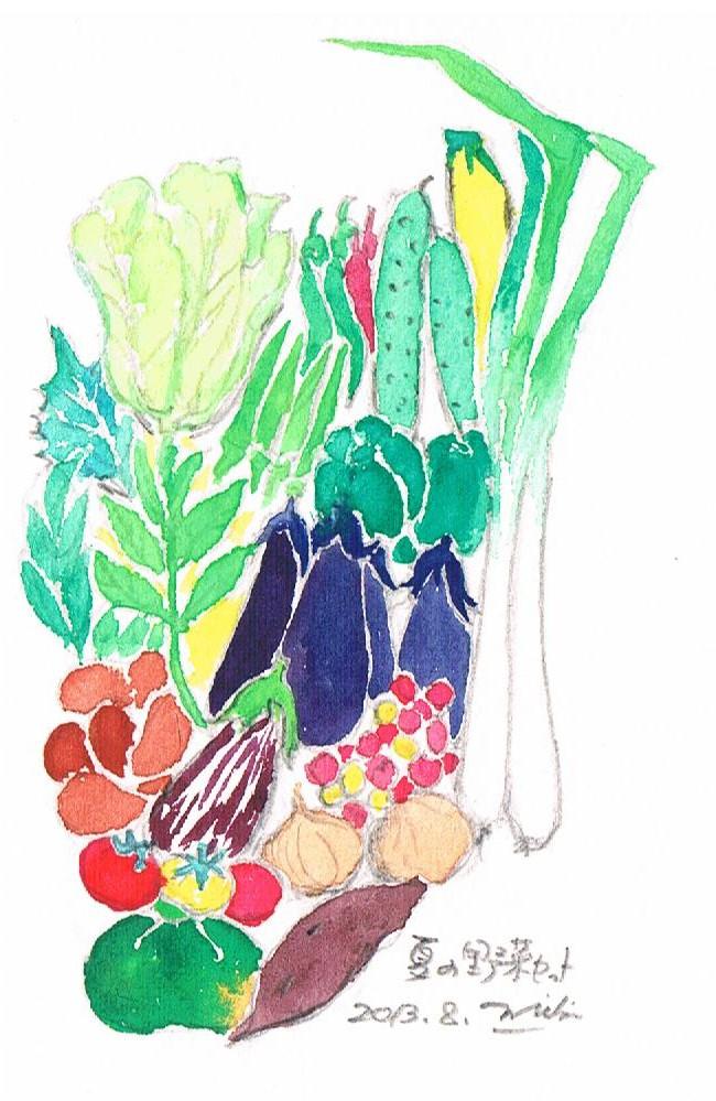 夏野菜セット 001